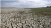 خشک سالی کے دوران مارمرا جھیل کا ایک منظر (فائل فوٹو)