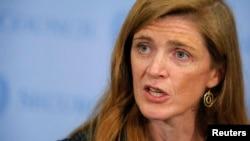 사만다 파워 유엔주재 미국대사 (자료사진)