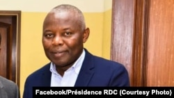 Motambwisi ya misala ya mokonzi Félix Tshisekdi, Vital Kamerhe, na Palais de nationa, Kinshasa, 22 juillet 2019. (Facebook/Présidence RDC)
