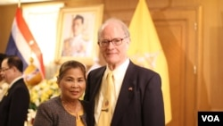 Mr. John Reed participate and celebrate a ceremony on the occasion of the Coronation of King Rama X of Thailand in Washington DC.