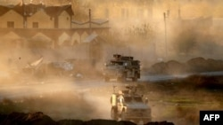 Američka oklopna vozila u Siriji