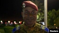 Le général Gilbert Diendéré à Ouagadougou 21 novembre 2014. (Reuters photo)