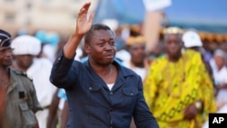 Faure Gnassigbé, président du Togo