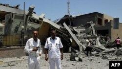 NATO Trablus'u Yine Bombaladı