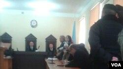 Məhkəmədə Lamiyə Quliyeva
