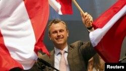 Ông Norbert Hofer, người ra tranh cử với cương lĩnh chống nhập cư và chống châu Âu, giành được 36,4% số phiếu.