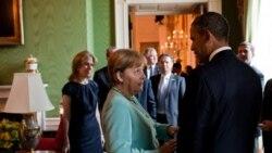 سخنان پرزيدنت اوباما و آنگلا مرکل در مورد برنامه اتمی ايران