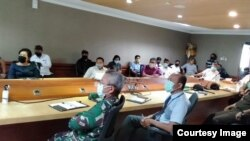 Koordinasi Penanganan Covid Pemerintah Kota Denpasar (foto: courtesy).