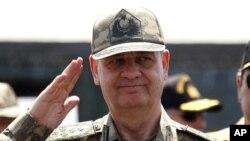 土耳其前軍隊參謀長巴什布(資料圖片)