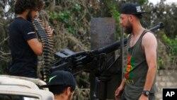 Военнослужащие ливийских правительственных сил