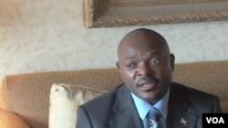 Le président Pierre Nkurunziza