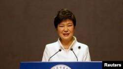 韩国总统朴槿惠(资料照)
