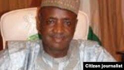 Gwamnan Sokoto Aliyu Magatakardan Wamako kanin Baraden Wamako Alhaji Salihu Wamako