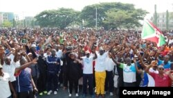 Imyiyerekano Yiyamiriza Icegeranyo ca ONU I Bujumbura