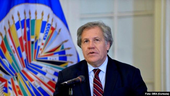 Secretario general de la OEA, Luis Almagro, pidió la suspensión de Venezuela del organismo.