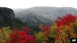 뉴잉글랜드의 가을풍경