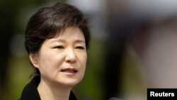 South Korea's President Park Geun-hye, June 6, 2013 file photo.