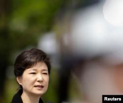 Tổng thống Nam Triều Tiên Park Geun-hye đã gởi thư chia buồn đến Chủ tịch Nước Trung Quốc