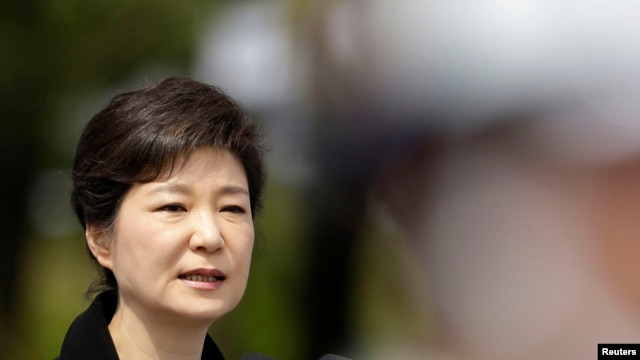 South Korea's President Park Geun-hye, June 6, 2013. (File)