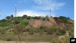 Un ancien site de la Gécamines à Likasi au Katanga, RDC (novembre 2011)