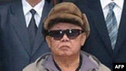 Эта фотография Ким Чен Ира была распространена Северной Кореей в апреле