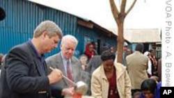 美国农业部长访问肯尼亚