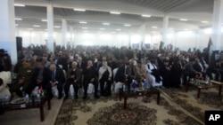3月6号,昔兰尼加省民众参加昔兰尼加委员会成立大会