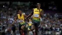 2012-08-10 美國之音視頻新聞: 牙買加選手包辦奧運男子二百米金銀銅牌