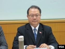 台灣淡江大學戰略研究所教授黃介正。(美國之音張永泰拍攝)