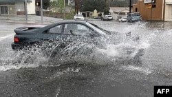 Poplavljene ulice Los Anđelesa, 20. decembar 2010.