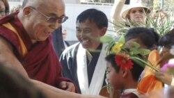 Dalai Lama Arrives in San Diego April 17 2012