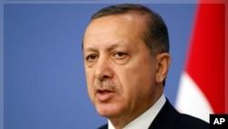 Serokwezîrê Tirkîyê Recep Tayyip Erdogan.