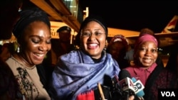 Aisha Buhari's Arrival 4