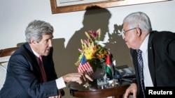 Kerry ve Abbas, yine Ramallah'ta bir araya geldi