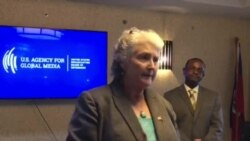 Robin Diallo US Embassy Charge d'Affaires in Haiti