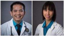 VOA phỏng vấn Bác sĩ Tiền Võ và Y sĩ Vy Nguyễn, Trung tâm Y khoa Võ, Calexico, California.