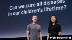 Mark Zuckerberg və xanımı Priscilla Chan