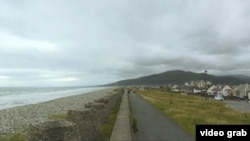 Fairbourne, Wales. (Photo: videograb)