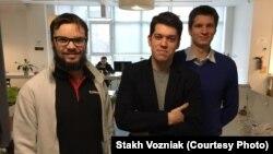 Команда Cargofy: Алекс Ковальчук (CTO), Стах Возняк (CEO) та Ендрю Пархомов (Developer)