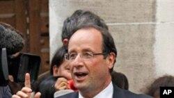 Prezida Aherutse Gutorwa mu Bufransa, Francois Hollande