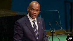 "FILE - Burundi's Foreign Minister Alain Nyamitwe addresses the United Nations General Assembly at U.N. headquarters in New York, Sept. 24, 2016. Nyamitwe claims there are ""politically motivated reasons which have pushed the ICC to act on African cases."""