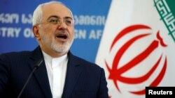 Menteri Luar NegeriIran Mohammad Javad Zarif mengatakan negaranya akan melakukan tindakan balasan jika AS membatalkan kesepakatan nuklir (foto: dok).