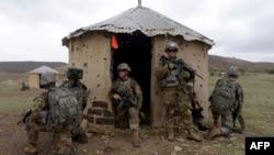 Soldados americanos em Africa