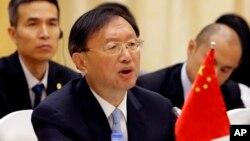 """El compromiso de Trump de mantener la política de """"una sola China"""" calmó las aguas entre los dos gobiernos."""