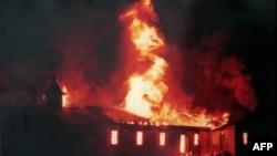 Американец получил 14 лет тюрьмы за поджог церкви