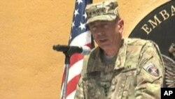 آیکنبری: امریکا به همکاری خود در افغانستان ادامه میدهد