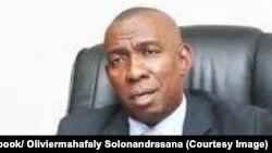 Le Premier ministre malgache Olivier Mahafaly Solonandrasana, Antananarivo, 20 juillet 2017. (Facebook/ Oliviermahafaly Solonandrasana)