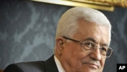 Palestinian President Mahmoud Abbas (file photo)