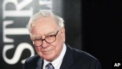 美國第二富有的人﹑投資家沃倫.巴菲特(資料圖片)