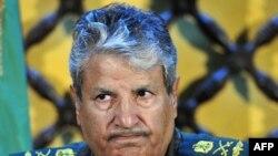 Vođa pobunjeničkih snaga Abdel Fatah Junis na konferenciji za novinare u Bengaziju